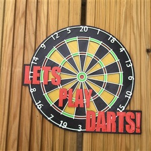Darts right way up