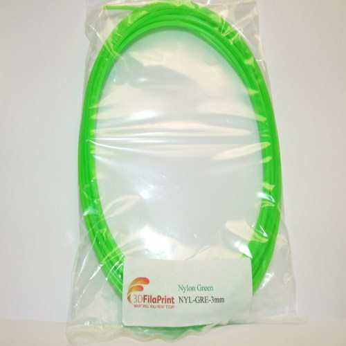 Nylon 6 3mm Green 5 Metre Wrap