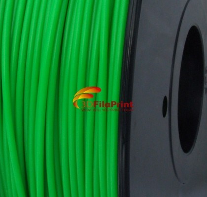 Reprapper Tech ABS Fluorescent Green 3mm 3D Printing Filament