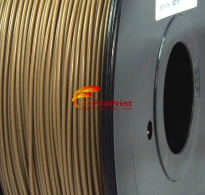 ABS Gold 1.75mm 3D Printing Filament