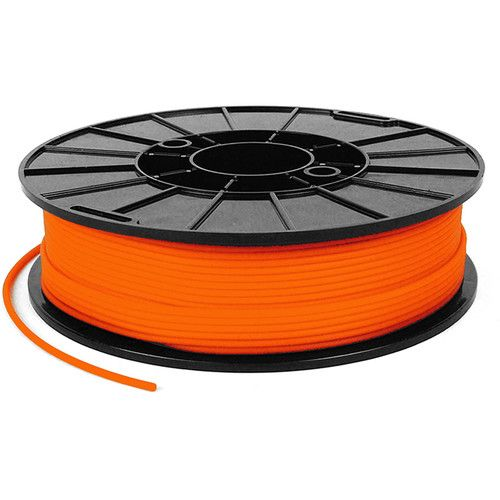 Armadillo Orange Lava 75D Rigid TPU 3D printing filament 1.75mm 500gms