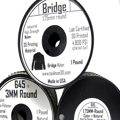 Bridge 1.75mm 3D Printer Filament 1Lbs