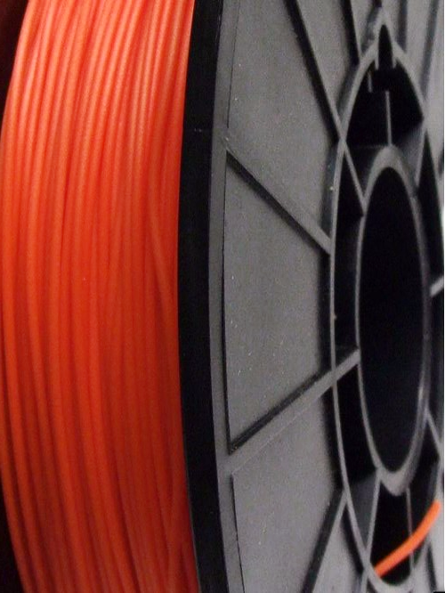 Cheetah Orange Lava 95A TPU Flexible 3D printing filament 1.75mm 500gms