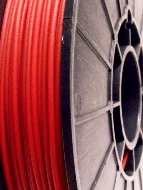 Cheetah Red Fire 95A TPU Flexible 3D printing filament 3mm 750gms