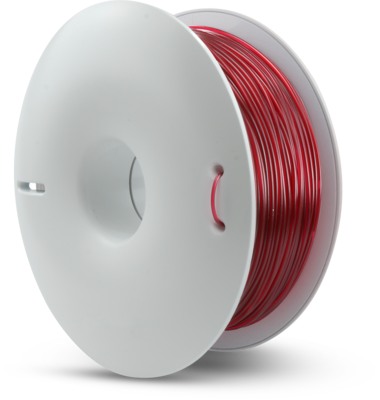 fiberlogy PET-G Transparent Burgundy coloured 1.75mm 850gms Spool 3D printing filament