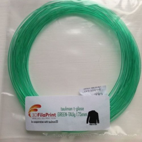 Green t-glase 1.75mm 10 Metre Wrap