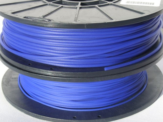 NinjaFlex 85A TPU Sapphire Blue 3mm Flexible 3D Printer Filament 750gms