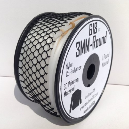 Nylon 618 3mm 3D Printer Filament **Reduced to clear**