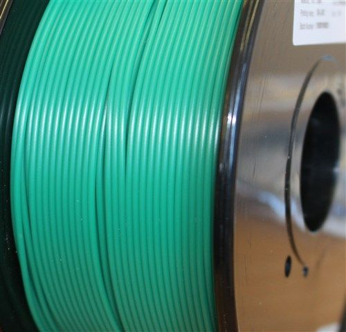 Reprapper Tech PLA 3mm Blue Green to Yellow Green Thermochanging filament