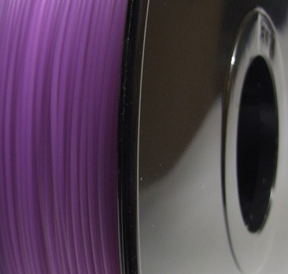 Reprapper Tech PLA 3mm White to Purple Ultra Violet Reactive filament